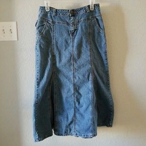 Womens Cato Denim Skirt On Poshmark